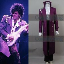 Prince Rogers Nelson Purple Rain Outfit Party Suit Coat Cosplay Costume FULL SET
