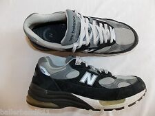 Mens New Balance  shoes sneakers 992 Made in USA USED black