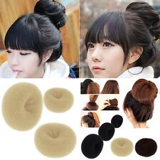 Cute Students Foam Sponge Head Hair Bun Buns Donut Maker Hair Styling Tool Chic