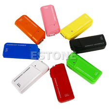 Emergency USB Charger With Flashlight AA Battery For iPhone 3G 3GS 4G iPod New