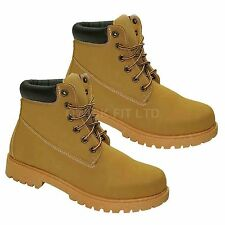 NEW LADIES HIKING TAN BOOTS WOMENS TRAIL TREKKING WALKING TRAINERS SHOES SIZES