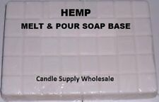 Hemp Melt And Pour Soap Base Soap Making Supplies ***Free Shipping***