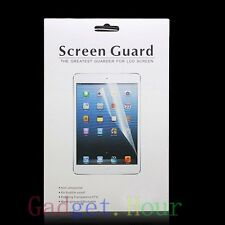 3x Clear SCREEN PROTECTOR Shield Guard Film FOR iPad PC Tablet Reader TAB 2013
