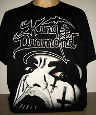 King Diamond T-Shirt Size S M L XL 2XL 3XL new! Mercyful Fate Heavy Metal