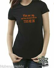 "Funny ROLLER DERBY T-Shirt ""WHAT CAN I SAY...""Womens HARDCORE ROCK STAR Girl Tee"