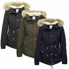 ONLY DAMEN WARME ÜBERGANGS JACKE PARKA CANVAS JACKET Gr.XS,S,M,L,XL
