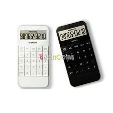 Handheld Phone Shape Calculator Basic Electronic Simple 10 Digit Display