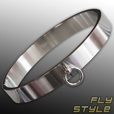 RING of O BANGLE Stainless Steel wrist cuff gothic slave bdsm submissiv mistress