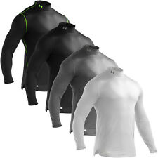 Under Armour 2013 Mens Long Sleeve Evo ColdGear Fitted Mock Base Layer