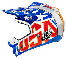 NEW 2015 TROY LEE DESIGNS TLD SE3 3X JEFF WARD MX DIRTBIKE HELMET BLUE ALL SIZES