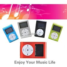 NEW LECTEUR CLIP MP3 16GB ECRAN + RADIO FM  5 COULEURS