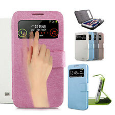 Magnetic Flip PU Leather Hard Case Cover For Samsung Galaxy Apple iPhone Skin