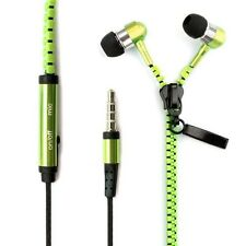 Newest Zip Earphone Stereo MIC Hands-free Headset for iPhone 5s 5 Samsung S4 Mp3