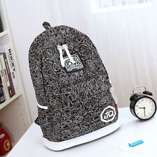 2014 women canvas backpack casual shoulder bag travel bag book schoolbag MO