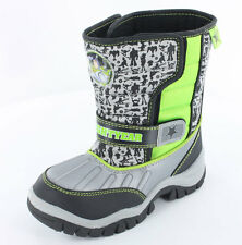 Boys Toy Story Buzz Lightyear Cartoon Character Tough Winter Snow Boot Shoe