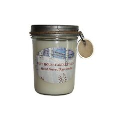 8-ounce Jelly Jar Scented Soy Candle