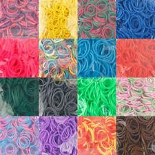 Loom Bands Rubber Refill Colorful Bands Clips Charms Hooks for Bracelet DIY