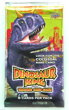 Dinosaur King Trading Cards Single Booster Packs Dino King TCG - New Sealed