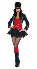 SEXY MARCH ON PARADE MAJORETTE RING MASTER CONDUCTOR BATONETTE WOMAN COSTUME