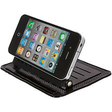 Black Car Mount Dashboard Cradle Holder Stand for Cell Phones