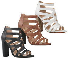 KARDASHIAN KOLLECTION SKYLER WOMENS/LADIES LUXURY FASHION HEELS/SANDALS/SHOES