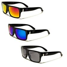 DXTreme horned rim Sunglasses Multi color selection Vintage Retro Mirror Lens
