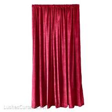 Burgundy Extra Large Club Stage Backdrop Decor Velvet 14 ft Drop Curtain Panel
