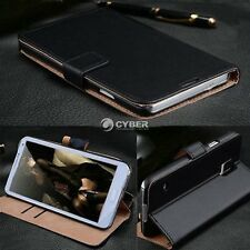 Leather Wallet Case Cover Folio Flip Pouch for Samsung i9500 Galaxy S4 IV DZ88