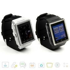 Dual Core Android 4.0 Touch Smart Watch 3G Phone GPS WiFi 2MP Camera Bluetooth