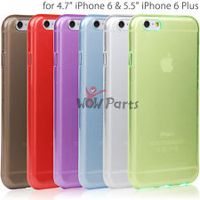 """Transparent Protective TPU Cover Skin for 4.7"""" iPhone 6 Ultra-Slim Back Case New"""