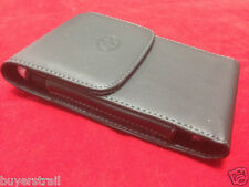 VERTICAL LEATHER CASE FITS WITH EXTENDED BATTERY for Amazon Cell Phones NEW
