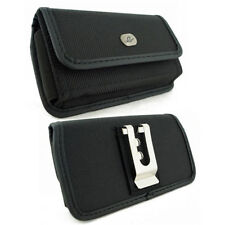 HEAVY DUTY RUGGED HOLSTER BELT CLIP POUCH fr LG w/ Extended Battery ON