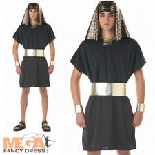 Pharaoh King Mens Fancy Dress Egyptian Adult Historical Costume Outfit