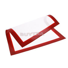 Hot Silicone Pastry Bakeware Baking Tray Oven Rolling Kitchen Mat Sheet