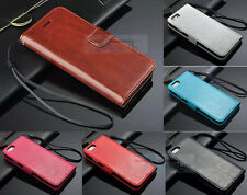 """2104 New Flip Photo Slot Stand Wallet Case For iPhone 6 Plus 5.5"""" 4.7"""""""