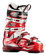 Rossignol Alias Sensor 100 Ski Boots Red/Transparent Mens