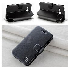 4 Colors Flip Leather Case For Samsung Galaxy Trend Duos 2 i829 i759 S6812i a