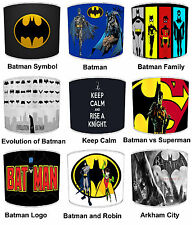 Childrens Batman Robin Lampshades Ideal to Match Batman & Robin Wallpaper Border