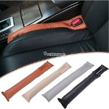 Auto Car Leakproof Seat Pad Gap Filler Holster Spacer Filler Padding Leather
