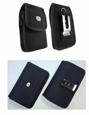 Vertical +Horizontal Rugged Pouch Clip Case FOR BLU Cell Phones