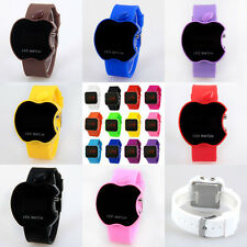 2014 Gift Storm Men Lady Mirror LED Date Day Silicone Rubber Digital Wrist Watch