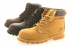 Safety Boots for Men Comfort Work Steel Toe Cap Waterproof Non Slip LEATHER
