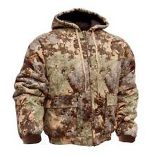 Kings Camo Insulated Cotton Duck Desert Hooded Mens Jacket KCB120 M L XL 2XL 3XL