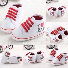 CA Newborn Baby Shoes Girl Unisex Sole Crib Infant Sneaker Toddler to 18month#