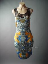Art Nouveau Mirror Print Sweetheart Illusion Lace Party 103 mv Dress 1XL 2XL 3XL