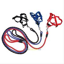 Pet Dog Multicolor Traction Rope Adjustable Pet Harness Rope Chest Straps LS4G