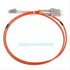 Jumper Cable Duplex Multimode LC-SC LC to SC Fiber Optic Optical Patch Cord #JT1