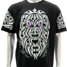 sc6 Sz XL Survivor Chang 3D T-shirt Tattoo STUD Skull Screen Print Cotton Indie