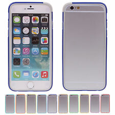 """CHEAP New Splicing Bumper Frame Back Case Cover Skin For Apple 4.7"""" iPhone 6 HOT"""