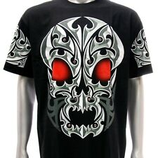 sc8 XXL Survivor Chang 3D T-shirt Tattoo STUD Glow in Dark Skull Demon Gift Men